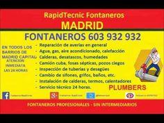 Fontaneros MADRID 603 932 932 Rápidos y Baratos