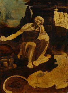 Leonardo da Vinci, St Jerome