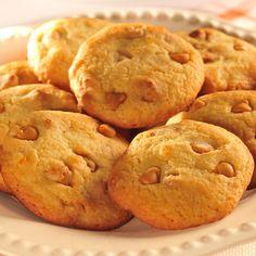 Butterscotch Orange Cookies (Easy; 30 cookies)