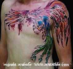 Phoenix avantgarde tattoo