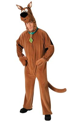 Men's Scooby Doo Costume - Scooby Doo Adult Costume Where Are My Scooby Snacks? Includes: Velour suit with plush Scooby-Doo head on the hood, and tail. Costumes Scooby Doo, Scooby Doo Disfraz, Scooby Doo Halloween, Family Costumes, Movie Costumes, Adult Costumes, Halloween Costumes, Cartoon Costumes, Dog Costumes