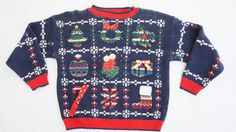 80s90s Christmas  Sweater by SycamoreVintage on Etsy, $25.00