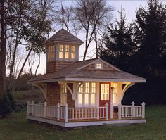 Playhouse. Playhouse Design. The overall size of this playhouse is 8X12. #Playhouse  Burgin Lambert Architects
