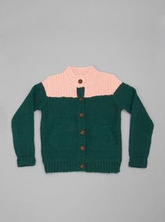 Couverture and The Garbstore - Childrens - Bellerose - Uche Wool Cardigan