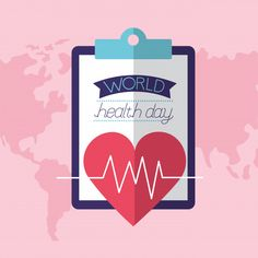 World health day World Health Day, Advertising Design, Background Patterns, Pharmacy, Dental, Tuesday, Vector Free, Classroom, Medical