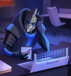 Garrus,ME персонажи,Mass Effect,фэндомы,sythgara