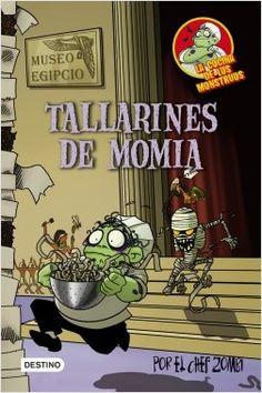 Tallarines de momia, de Martín Piñol. Una colección de libros... ¡asquerosamente divertidos!