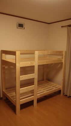 DIY 子供用二段ベッドを自作する : 我はかく語りき…