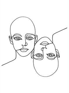 linework von Julia Hariri # linework # artwork # arty # artsy # tattoo # abstract # painting # i . Abstract Drawings, Abstract Portrait, Art Drawings, Tattoo Abstract, Drawing Faces, Abstract Faces, Abstract Paintings, Art And Illustration, Eyes Artwork