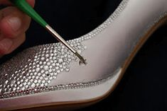 strass your shoes i so want to learn how to do this i will strass everything