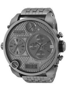6964c731920 Diesel Chronograph Grey Multi Dial Ana-Digi Display DZ7247 Men's Watch Mens  Digital Watches,