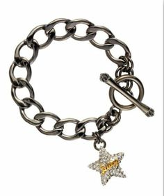 Juicy Couture Chain Link Pave Star Charm Bracelet, Hematite Juicy Couture,http://www.amazon.com/dp/B00I0GB8GG/ref=cm_sw_r_pi_dp_GdnHtb0FTH00N40P