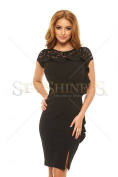 Rochie LaDonna Laced Match Black - https://tidy.ro/produs/rochie-ladonna-laced-match-black/