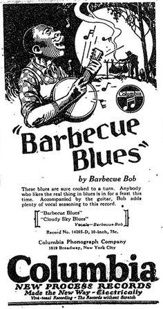 Barbecue Blues ad