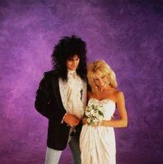 Tommy Lee Motley Crue, Shout At The Devil, Mick Mars, Heather Locklear, Nikki Sixx, Bridesmaid Dresses, Wedding Dresses, Best Couple, Rock N Roll