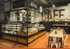 Diseño IMS para sector Café de Checkers Ballito Junction #culture #tradition #argentina #southafrica #checkers #retail #stored #architecture #industrialdesign #supermarket #storedesig