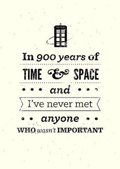 Doctor Who Quote by risarodil