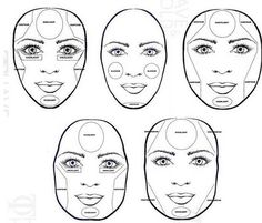 how to contour a round face - Google Search