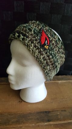Check out this item in my Etsy shop https://www.etsy.com/listing/463056238/arizona-cardinals-ear-warmer-for-youth