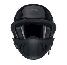 Rogue Motorcycle Helmet in Solid Black image from http://www.bellhelmets.com/powersports/helmets/street/rogue.