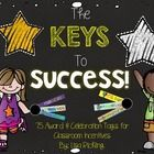 This pack includes several different award and celebration tags that you can distribute to your students as classroom incentives as students reach ...