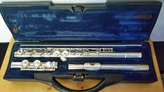 Buffet Crampon Paris Cooper Scale FLUTE Made in England BC 6010 w/Hard Case #BuffetCrampon