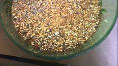 Glitter epoxy floor