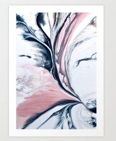 Art print of original fluid painting. Simple Canvas Paintings, Modern Art Paintings, Abstract Canvas Art, Diy Canvas Art, Original Paintings, Contemporary Abstract Art, Modern Wall Art, Cuadros Diy, Acrylic Pouring Art