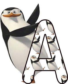 Oh my Alfabetos!: Alfabeto de los pingüinos de Madagascar.