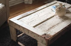 restored, wood, table, distressed, furniture, table, barn, coffeetable