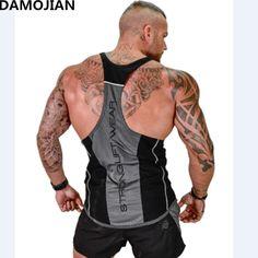 5b731993ef264a Muscle guys Brand mens sleeveless t shirts Summer Cotton Men Tank Tops gyms  Clothing Bodybuilding shirt Fitness top