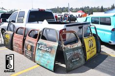 vintge lettering on truck | Hot Rod Art: Hand Painted and Lettered Old Truck Doors