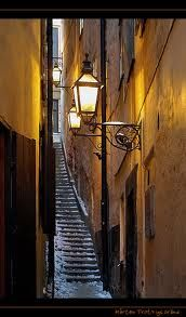 Mårten Trotzigs alley in Old Town, Stockholm