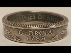 How to make a coin ring for cheap with FORGED: Coin Ring Making for Beginners - YouTube