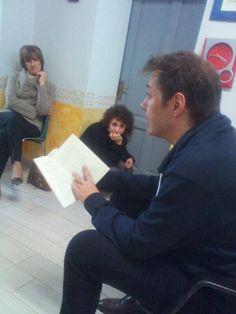"""Luca Ragagnin legge qualche pagina di """"Capitomboli"""" al Festival Internazionale di Letteratura """"I Luoghi delle Parole"""" 2013."""