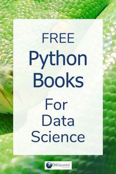 Free Essential Python Books for Aspiring Data Scientists