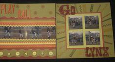 Softball #6 - Scrapbook.com