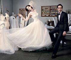 Sucesso nos red carpets, Zac Posen lança linha acessível de wedding gownse revela à Vogue a matemática do vestido tipo fishtail perfeito (Foto: David Slijper/ Trunkarchive)