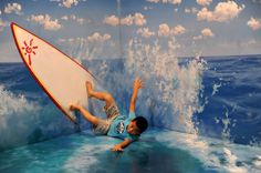 3D painting in Hangzhou - Surf