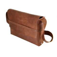 Survivor Leather Satchel Saddle, 129€, jetzt auf Fab.
