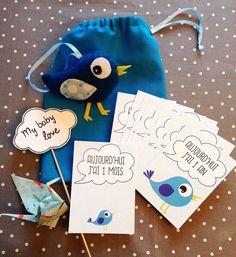 Babybox, cadeau de naissance garçon par crea-graphic