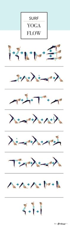 Surf Yoga Flow More from my site Yoga video Summerbody Vinyasa Yoga Flow Teil 2 Yoga Flow, Yoga Restaurativa, Vinyasa Yoga Poses, Namaste Yoga, Yoga Sequences, Pilates Yoga, Yoga Moves, Yoga Art, Pilates Reformer