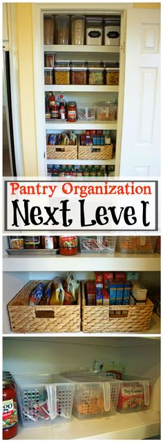 60 Best Pantry Organization Ideas - DIY - Page 3 of 12 - DIY & Crafts
