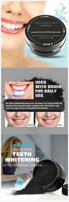 Teeth Whitening Powder  Premium Activated  Coconut Shell Charcoal  Menthol Dental Scaling at Banggood. Buy fashion Teeth & Mouth Care online.