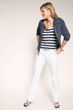 edc - Stretchige Jeans aus Baumwoll-Mix im Online Shop kaufen