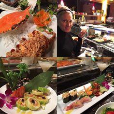 And now for some #SushiPorn - let's just say we over-ordered! #sushi #spiderman #roll #softshellcrab #oceanRoll #snowcrab #cucumber #rice #scallops #halibut #tuna #wasabi #foodblogger #travel #sushi #sushi #sushitime #denver #luxurytravel #wanderlust #foodporn #zipkick #zipkickbloggers #sake #pearl #roe #seaweed #seaweedsalad