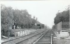 North Fitzroy Railway Station, back when a railway went through Fitzroy and Carlton on the Inner Circle line. Passenger services ceased on the Inner Circle in 1948, became a goods line to the Fitzroy Railway Station at the rear of the Brunswick Street Oval until 1981. North Fitzroy station is now demolished, and the Inner Circle line is now the Capital City Bike Trail.