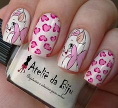Manicure ideas disney to get 18 Super Ideas Fabulous Nails, Perfect Nails, Gorgeous Nails, Pretty Nails, Animal Nail Designs, Disney Nail Designs, Nail Art Designs, Disney Acrylic Nails, Wonder Nails