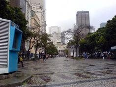 Rio de Janeiro - Brasil - Candelária - Teatro Municipal ao fundo