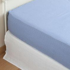 STRIPE PRINT COTTON BOTTOM SHEET - Bed Linen - Bedroom   Zara Home Hungary